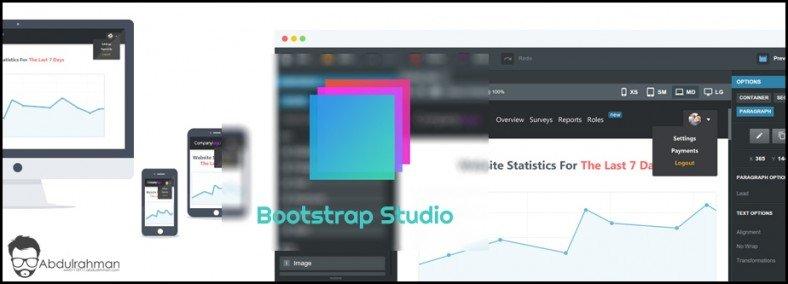 Bootstrap Studio Main
