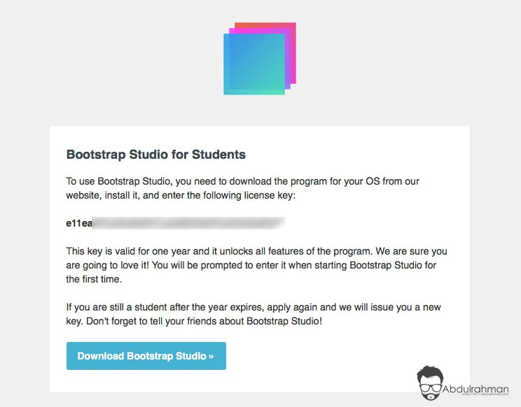 Bootstrap Studio for Students
