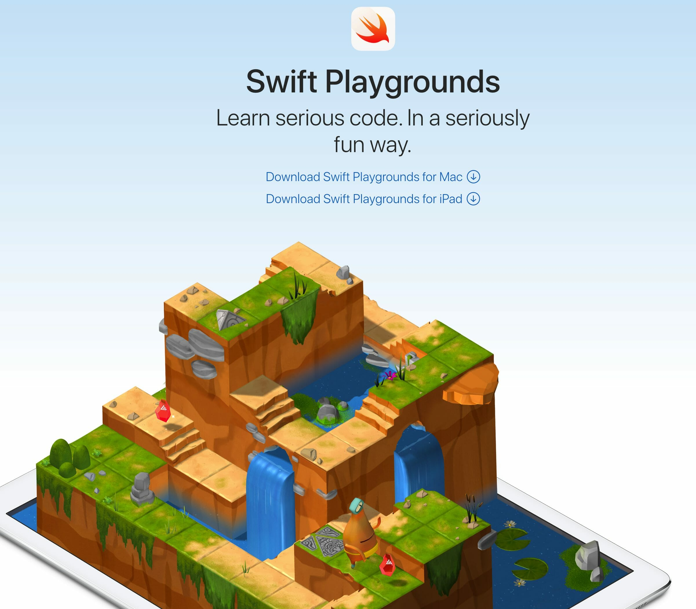 تعلم Swift Playgrounds